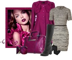 """""""Magenta Madness!"""" by jliz516 ❤ liked on Polyvore"""