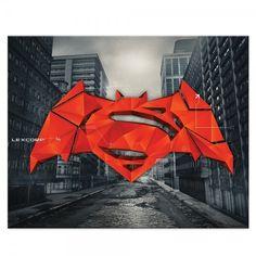 Batman v Superman Cityscape found on Polyvore