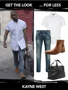 Get the Look: Kanye West