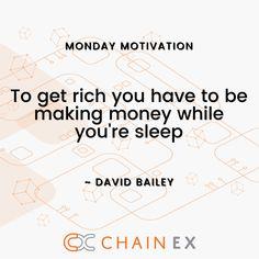 Happy Monday, happy trading, happy referring! 🚀🚀 👇👇👇 #bitcoin #btc #eth #chainex #chainexroadto200k #assets #doge #traders #mondaymotivation #warrenbuffet #davidbailey #crypto #cryptocurrency