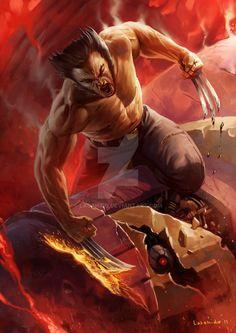 Wolverine by LASAHIDO.deviantart.com on @DeviantArt