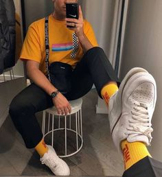 40 Trendy fashion inspo edgy men - Although most of us as men are in . - 40 Trendy fashion inspo edgy men – Although most of us seem to be careless about clothing as men, - Urban Fashion Women, 80s Fashion, Trendy Fashion, Fashion Outfits, Fashion Photo, Retro Fashion Mens, Retro Men, Fashion Tights, Fashion Shirts