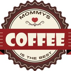 Mommys Coffee Pie Dish, Dishes, Coffee, Design, Kaffee, Flatware, Design Comics, Plates, Dish