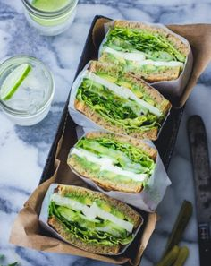 Best Vegetarian Sandwich Recipes – Filling Vegetable Meals Vegetarian Sandwich Recipe Green Goddess Sandwich / Vegan Sandwich / Healthy Sandwich Vegetarian QuesadillasGrilled vegetarian ravioli out of the ovenVegetarian pan Stuffed mussels – # stuffed Best Vegetarian Sandwiches, Healthy Sandwiches, Sandwiches For Lunch, Delicious Sandwiches, Vegetarian Recipes, Cooking Recipes, Veggie Sandwich, Veggie Wraps, Sandwich Ideas