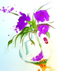 alcohol ink painting open inks