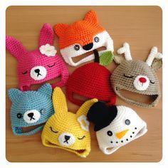 Little crochet hats for Blythe - Poppy Tree Lane ༺✿ƬⱤღ  https://www.pinterest.com/teretegui/✿༻