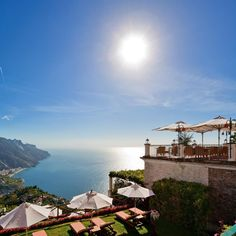 Amalfi Coast.  Stay at: Palazzo Avino