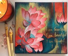Budha Painting, Flower Painting Canvas, Oil Painting Flowers, Indian Art Paintings, Acrylic Painting Techniques, Ideas, Buddha Artwork, Watercolor Quote, Pastel Landscape