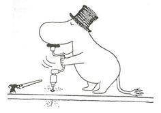 10 wonderful facts about Moominpappa that'll make you love him even more - Moomin Critters 3, Fuzzy Felt, Moomin Valley, Tove Jansson, Little Critter, Stop Motion, Drawing Tips, Tattoo Drawings, Troll