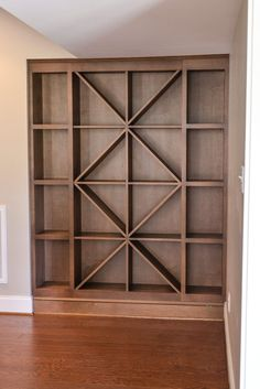 Like this on a smaller scale combine. Like this on a smaller scale combined with a bookshelf f… Custom wine rack. Like this on a smaller scale combined with a bookshelf for in the CLEAN garage - Wine Shelves, Wine Storage, Storage Rack, Book Storage, Art Storage, Closet Shelves, Book Shelves, Storage Ideas, Storage Crates