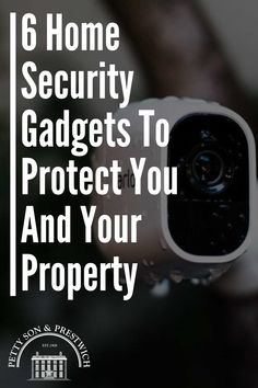 Read about 6 Home Security Gadgets To Protect You And Your Property. Moving House Tips, Moving Day, Home Security Tips, Home Security Systems, Wireless Surveillance System, Security Gadgets, Diy Home Improvement, Real Estate Investing, Good Thoughts