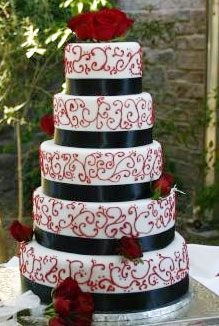 I think 3 tiers would be sufficient. But perfect colors.