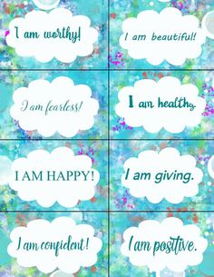 This item is unavailable Affirmations For Kids, Positive Affirmations, Positive Quotes, Motivational Quotes, Inspirational Quotes, Motivational Activities, Making A Vision Board, Journaling, Mental Training