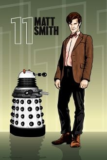 "Doctor Who (No.11) - Matt Smith (Dalek) 18"" x 12"" Print"