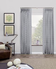 Pinch Pleat Drapery & Curtains | Modern Drapes | The Shade Store