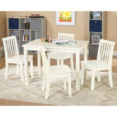 Shop for Simple Living 5-piece Alice Kids Table and Chair Set. Get free delivery…