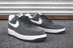 """Nike Sportswear """"Suede Pack"""" Air Force 1 '07 for Winter 2016"""