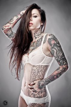 Gogo Blackwater another favorite tattooed model of mine!