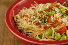 Recipe : Sesame Angel Hair Pasta