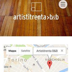 Artistitrenta B&B, Torino   graphic design + website by studio lulalabò    @artistitrenta_bb   #bedandbreakfast #artistitrentabb #torino