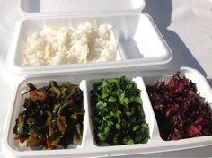 "Japanese Rice ""Yume-gokochi"" & Hiroshimana (Pickled vegetables)  #Food #JapaneseFood #Rice #Fukui #Hiroshima"