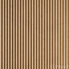 Triangular Section Wooden Slats (displacement) - Model for Corona, FStorm House Fence Design, Modern Fence Design, Wall Design, Cladding Materials, Wood Cladding, Wood Panel Walls, Wood Paneling, Panelling, Wood Panel Texture