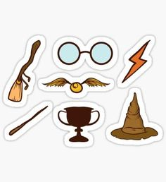 Harry Potter stickers featuring millions of original designs created by independent artists. Harry Potter Fan Art, Stickers Harry Potter, Harry Potter Tumblr, Stickers Kawaii, Cool Stickers, Printable Stickers, Cute Laptop Stickers, Harry Potter Bricolage, Imprimibles Harry Potter