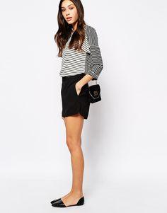 Bild 1 von Oasis – Shorts mit rundem Saum