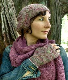 Hawthorne Hat & Mitts by Susanna IC. Meet the perfect partners for our Hawthorne shawl. $6.00 US