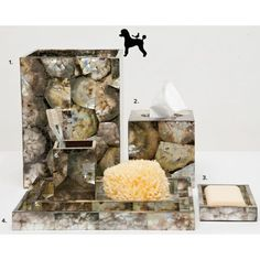 Moritz Silver Bath Accessories | Gracious Style