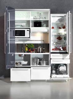 designLINE Schrankküche | Büroküche | Miniküche in Sommerfarben ... | {Schrankküche büro 24}
