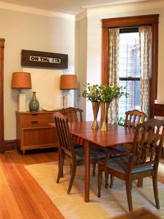 1000+ images about Formal dining room on Pinterest  Oak trim, Wood ...