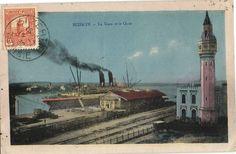 CPA Tunisie Bizerte La Gare et le Quai  (25719)