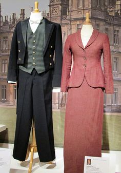 Walking Suits from Downton Abbey