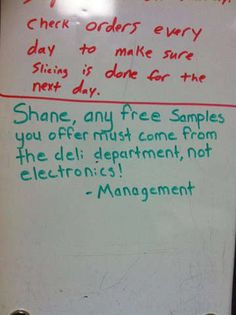 Ardentleprechaun, a user or the reddit community, as well as an employee of Walmart has a coworker named Shane. Shane allegedly has a sense of humor that is always getting him in trouble with manangement. However, his comedic relief has caught the attention of the internet (thanks to his fellow coworker) and it is completely hilarious. This guy deserves an award!