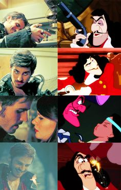 Hook (OUAT) vs Hook (Disney)