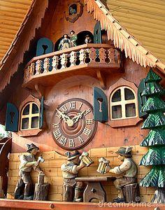 Cuckoo Clock from Black Forest, Germany  © Bonita Cheshier