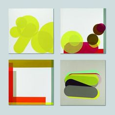 Notes on colour and form - Prints by Sophie Smallhorn