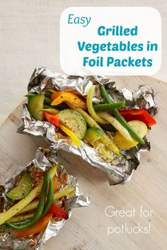 Butter Herb Grilled Summer Veggie Packets Recipe — Dishmaps