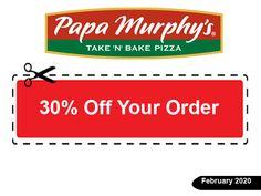 10 Papa Murphy Coupons Ideas In 2020 Papa Murphy Coupons