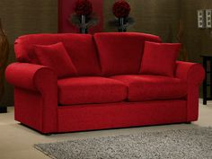 Olivia Sofa Bed - Red