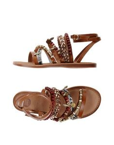GIOSEPPO Women's Sandals Brown 11 US