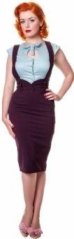 Collectif Argarva Purple Pencil Skirt Braces High Waist Button Pin Up Vintage 1940's 1950's     http://www.ebay.co.uk/itm/COLLECTIF-AGARVA-PURPLE-BRACES-PENCIL-SKIRT-RETRO-ROCKABILLY-PIN-UP-1950s-NEW-16-/330887191660?pt=UK_Women_s_Skirts=item4d0a69dc6c