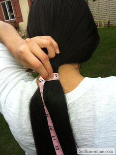 Cool Virgin Thick Straight Dark Brown/ Black Hair For Sale!