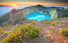 Awesome Kelimutu a truly beautiful place by Nathalie Stravers on 500px