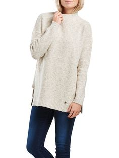 "adorable soft oversize knit / must have / casual minimal chic // only ""Pumice Stone"""