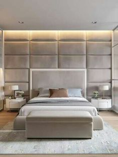 Modern Bedroom Interior Design Inspirational Contemporary Elegant & Cosy Home Design Project In Ukraine Master Bedroom Design, Home Bedroom, Bedroom Furniture, Bedroom Decor, Bedroom Ideas, Master Bedrooms, Bedroom Designs, Furniture Sets, Bedroom Lighting