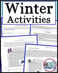 Winter Logic Puzzles & brain teasers with answers provide easy to print printables for kids. Hard critical thinking challenges for problem solving activities for students are cool for a difficult worksheet printable in English. Best brainteasers for the 4th grade & 5th elementary student. Awesome for classroom whole or small group, centers, or homeschool. (Level 4, 5) #teachers #iteach #TpT #teacherspayteachers #TpT #education #iteachgifted #edu #teaching #iteach345 #iteach5th #iteachgifted Teaching Writing, Teaching Kids, Writing Prompts, Teaching Resources, Brain Teasers With Answers, Problem Solving Activities, Logic Puzzles, Levels Of Understanding, Winter Activities