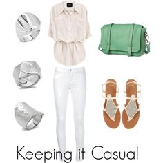 """""""Keeping it Casual"""" by eternal-sparkles-stylist on Polyvore"""