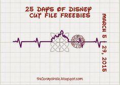 25 Days of Disney Cut File Freebies! Day 18